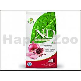 N&D Grain Free Dog Adult Mini Chicken & Pomegranate 2,5kg