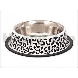 Miska DOG FANTASY nerez leopard 450ml (20cm)