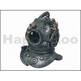 Dekorace KARLIE-FLAMINGO - potápěčská helma se vzduchováním 13x1