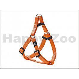 Postroj KARLIE-FLAMINGO Art Sportiv Plus D-ring oranžový (L) 60-