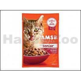 Kapsička IAMS Senior Delights Chicken in Gravy 85g
