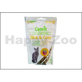CANVIT Cat Snacks Skin & Coat 100g