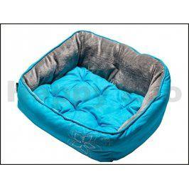 Pelech ROGZ Lapz Luna Pod - Blue Floral (XS) 43x30x19cm