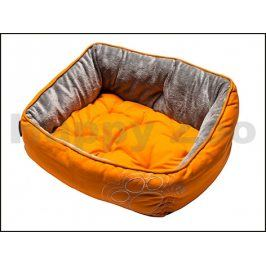 Pelech ROGZ Lapz Luna Pod - Orange Paw (XS) 43x30x19cm