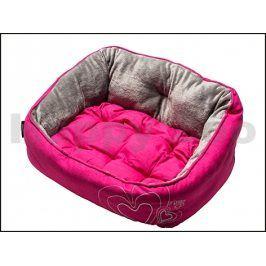 Pelech ROGZ Lapz Luna Pod - Pink Heart (XS) 43x30x19cm
