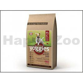 YOGGIES Minigranule kuřecí & hovězí 4kg