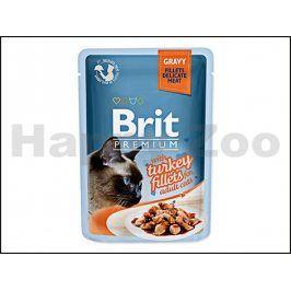 Kapsička BRIT Premium Gravy Turkey Fillets 85g