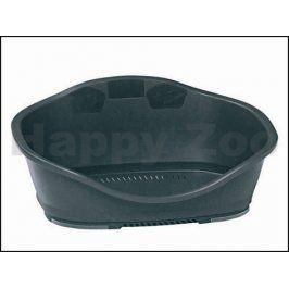Plastový pelech STEFANPLAST Sleeper 2 černý 68,5x49x27,5cm