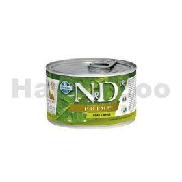 Konzerva N&D Dog Prime Adult Boar & Apple Mini 140g