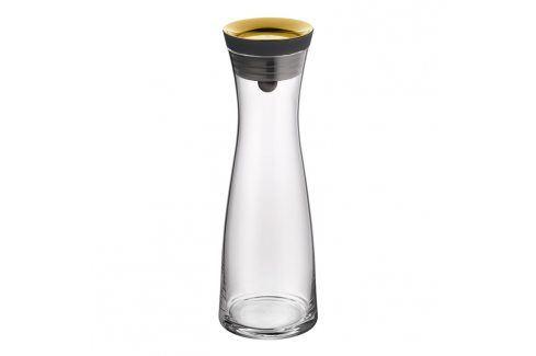 WMF Karafa na vodu se zlatým víčkem Basic 1,0 l Karafy