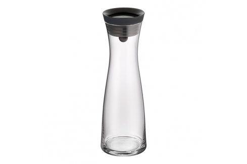 WMF Karafa na vodu s černým víčkem Basic 1,0 l Karafy