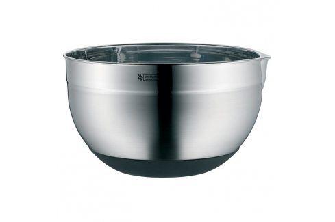 WMF Kuchyňská nerezová miska Ø 24 cm se silikonovým dnem Mísy a misky