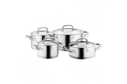 WMF Sada hrnců 4 ks Gourmet Plus matný nerez Sady nádobí
