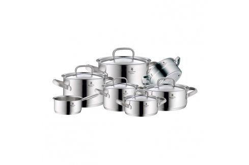 WMF Sada hrnců 7 ks Gourmet Plus matný nerez Sady nádobí