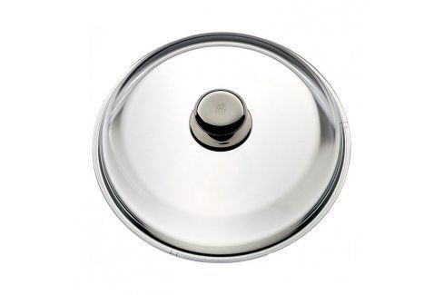 WMF Skleněná poklice 20 cm s kovovým úchytem Poklice