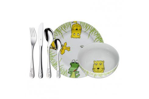 WMF Dětský jídelní set 6dílný set Safari Příbory
