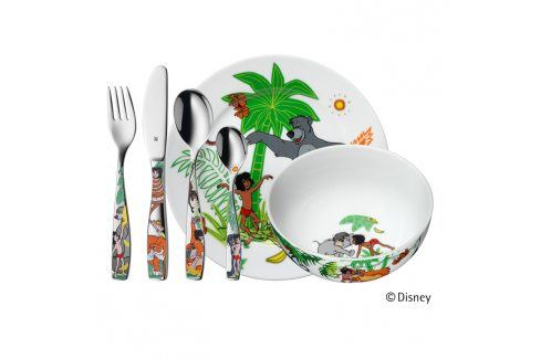 WMF Dětský jídelní set 6dílný Kniha džunglí Příbory