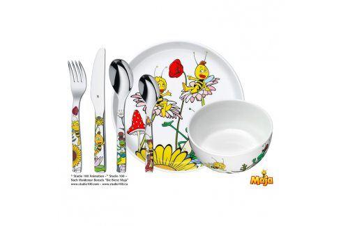 WMF Dětský jídelní set 6dílný Včelka Mája Příbory