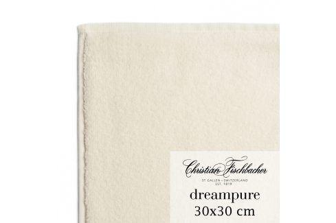 Christian Fischbacher Ručník na ruce/obličej 30 x 30 cm krémový Dreampure, Fischbacher Ručníky