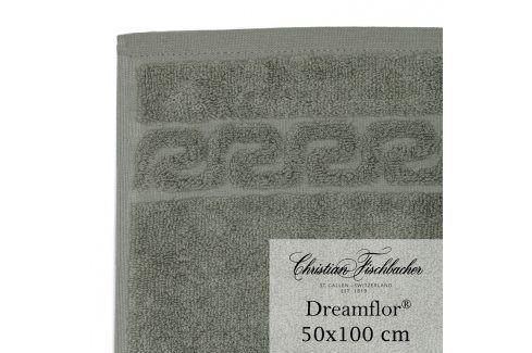 Christian Fischbacher Ručník 50 x 100 cm šedozelený Dreamflor®, Fischbacher Ručníky