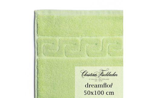 Christian Fischbacher Ručník 50 x 100 cm světle zelený Dreamflor®, Fischbacher Ručníky