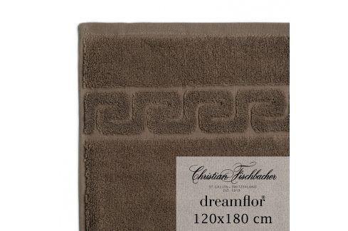 Christian Fischbacher Osuška velká 120 x 180 cm hnědá Dreamflor®, Fischbacher Ručníky