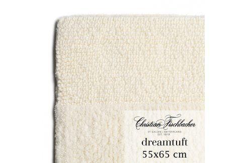 Christian Fischbacher Koupelnový kobereček 55 x 65 cm krémový Dreamtuft, Fischbacher Koupelnové předložky