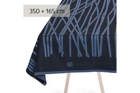 GEORG JENSEN DAMASK Ubrus black blue 350 × 165 cm MIKADO Ubrusy