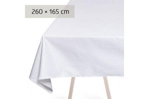 GEORG JENSEN DAMASK Ubrus white 260 × 165 cm SNOWFLAKES Ubrusy