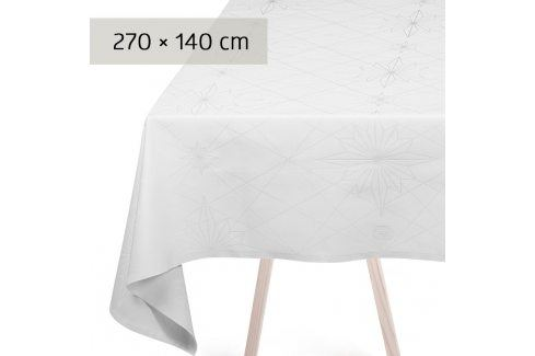 GEORG JENSEN DAMASK Ubrus white 270 × 140 cm FINNSDOTTIR Ubrusy
