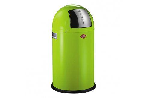 Wesco Odpadkový koš Pushboy Junior 22 l světle zelený Odpadkové koše