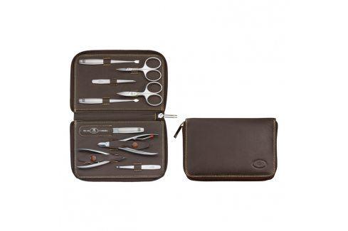 ZWILLING Manikúra 9dílná TWINOX® Emblem brown Kosmetické pomůcky