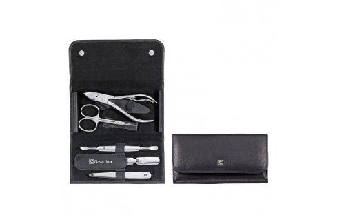 ZWILLING Manikúra 5dílná ZWILLING® Classic Inox černá s kleštěmi na nehty Kosmetické pomůcky