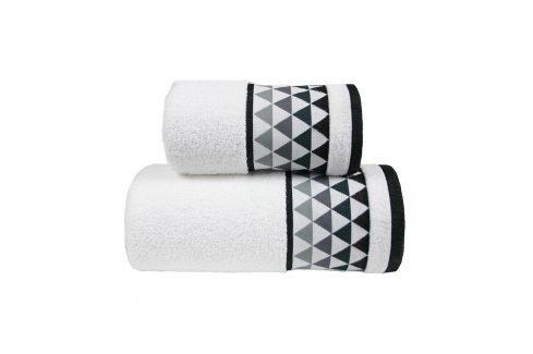Ručník Men Way bílý 50x90 cm Ručník Bavlněné ručníky a osušky