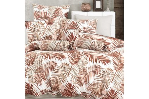 Povlečení Palm 140x200 jednolůžko - standard bavlna Květinové vzory