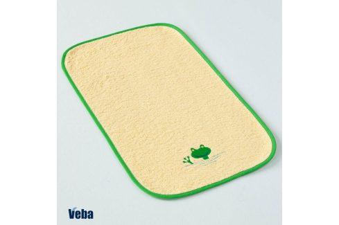 Dětský ručník Žába 30x50 cm žlutá Dětské osušky a ručníky