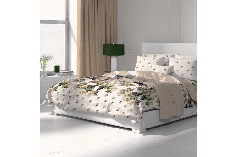 Povlečení Laura Flower 140x200 jednolůžko - standard bavlna Povlečení z hladké bavlny
