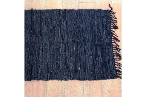 Kobereček Home Design z kůže černá rohožka, 90x60 cm modrá, černá Doplňky