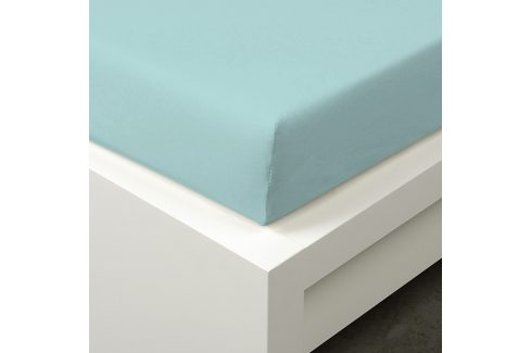 Napínací prostěradlo Tencel tyrkysové 90x200 cm jednolůžko - standard 48% tencel, 4% elastan, polyester Jersey prostěradla