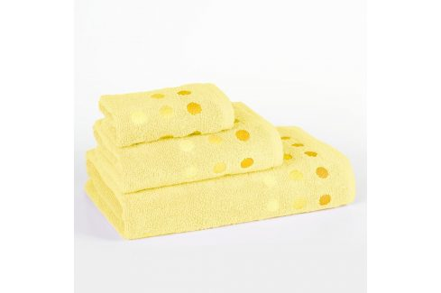 Ručník Vienna žlutý 30x50 cm Ručník malý Ručníky