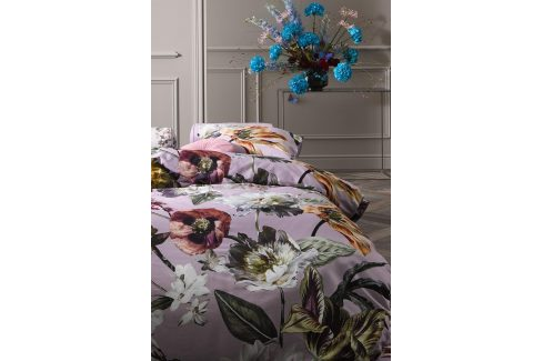 Povlečení Essenza Home Filou Lilac 140x200 jednolůžko - standard Bavlněný satén Luxusní povlečení