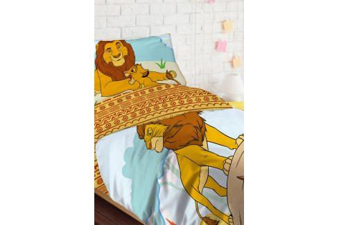 Děštské povlečení Lion King 140x200 jednolůžko - standard bavlna Dětské povlečení