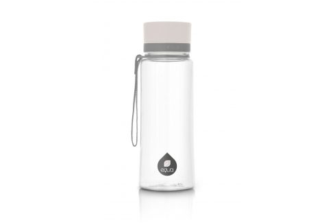 Plastová láhev EQUA Plain White 600ml Objem: 600ml Lahev Doplňky