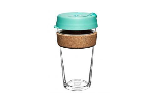 Cestovní hrnek Keepcup zelený s korkem 454 ml Objem: 454ml Cestovní hrnek Doplňky