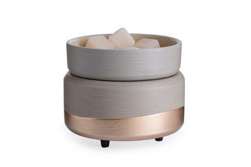 Elektrická aromalampa a ohřívač svíček Midas Keramika béžová Doplňky