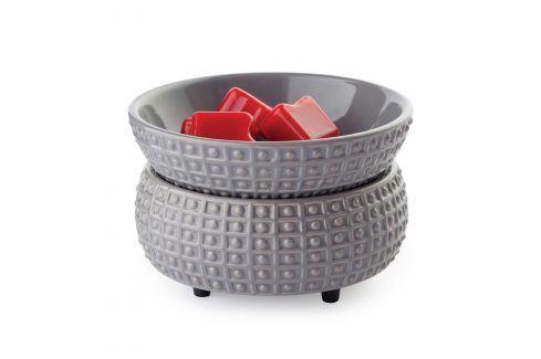 Elektrická aromalampa a ohřívač svíček Slate Keramika šedá Doplňky