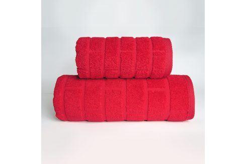 Ručník Brick červený 50x90 cm Ručník Osušky