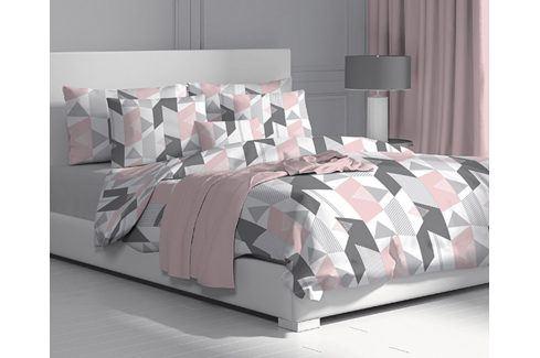 Povlečení Alexa 140x220 jednolůžko - prodloužené bavlna Geometrické vzory