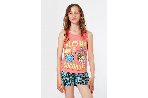 Dívčí pyžamo Coco  modrooranžová Akce týdne