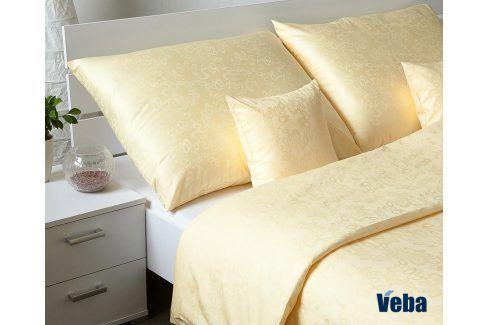 Povlečení Geon Bubliny žluté 140x200 jednolůžko - standard bavlna Jednobarevné povlečení